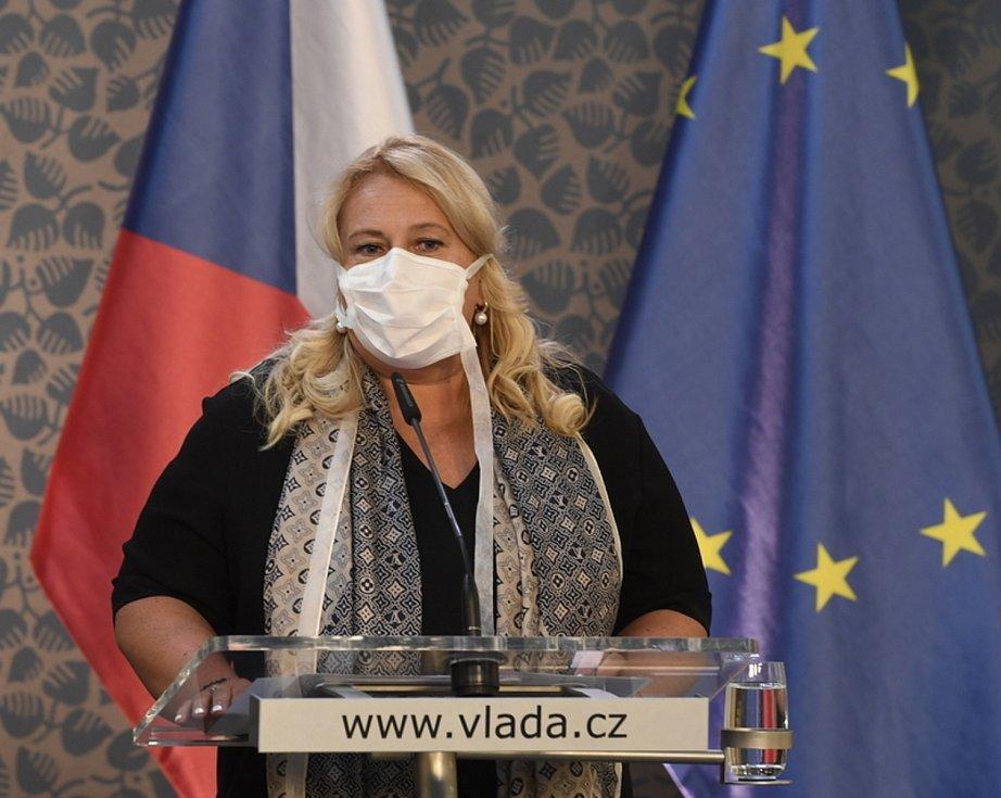 Ministryně pro místní rozvoj Klára Dostálová (na snímku z 24. srpna 2020)