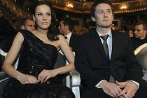 Tomáš Rosický s manželkou Radkou.