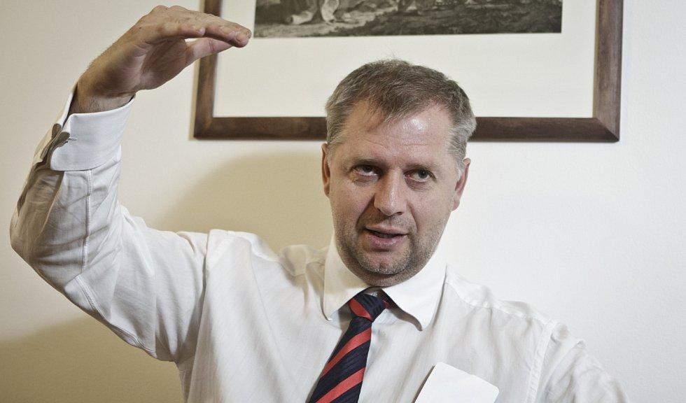 Bývalý ministr zemědělství Petr Bendl