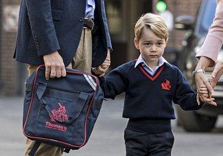 První školní den prince George