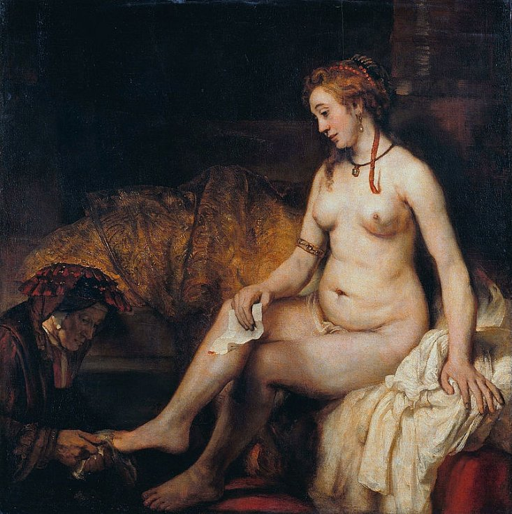 Rembrandt Harmenszoon van Rijn, Batšeba