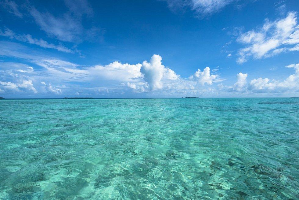 Tichý oceán.