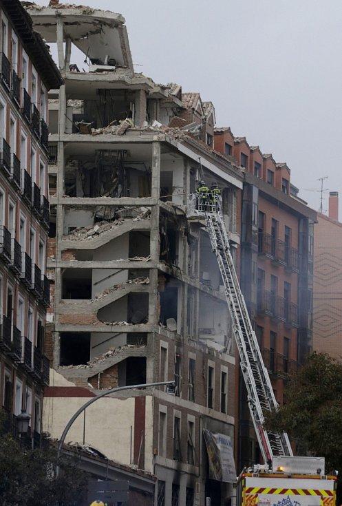 V Madridu došlo k výbuchu poschoďového domu.