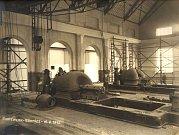 Teplárna Trmice - strojovna (16.8.1915)