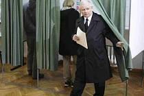 V Polsku se dnes konají volby. Na snímku Jaroslav Kaczynski.