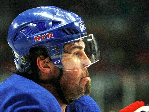 Jaromír Jágr ještě v dresu New Yorku Rangers. Od příští sezóny už ale bude hrát v barvách Omsku.