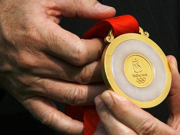 Medaile pro olympijské vítěze.