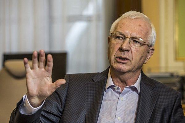 Předseda Akademie věd České republiky Jiří Drahoš.
