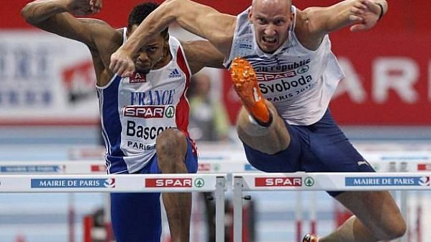 Petr Svoboda se v Paříži stal mistrem Evropy v halové atletice.