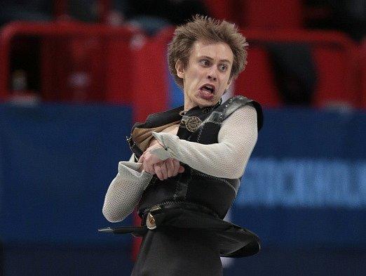 Michal Březina na mistrovství Evropy ve Stockholmu