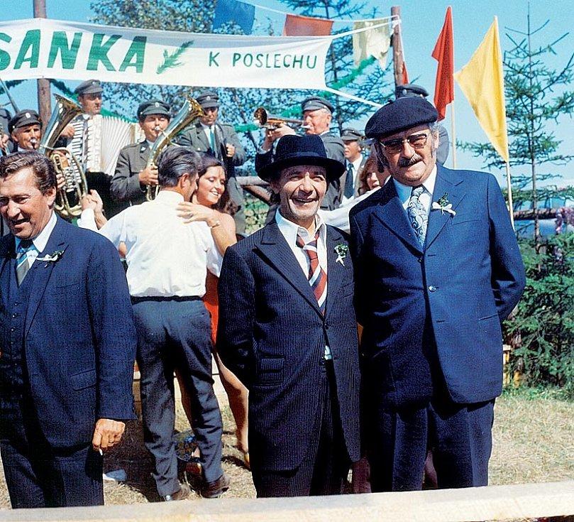 Bohouš Císař a Evžen Huml (Josef Kemr a Jiří Sovák)