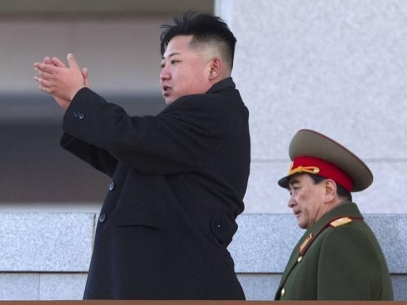Severokorejský vůdce Kim Čong Un