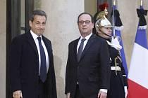 Nicolas Sarkozy a François Hollande