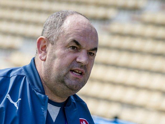 Předseda Fotbalové asociace České republiky Miroslav Pelta.