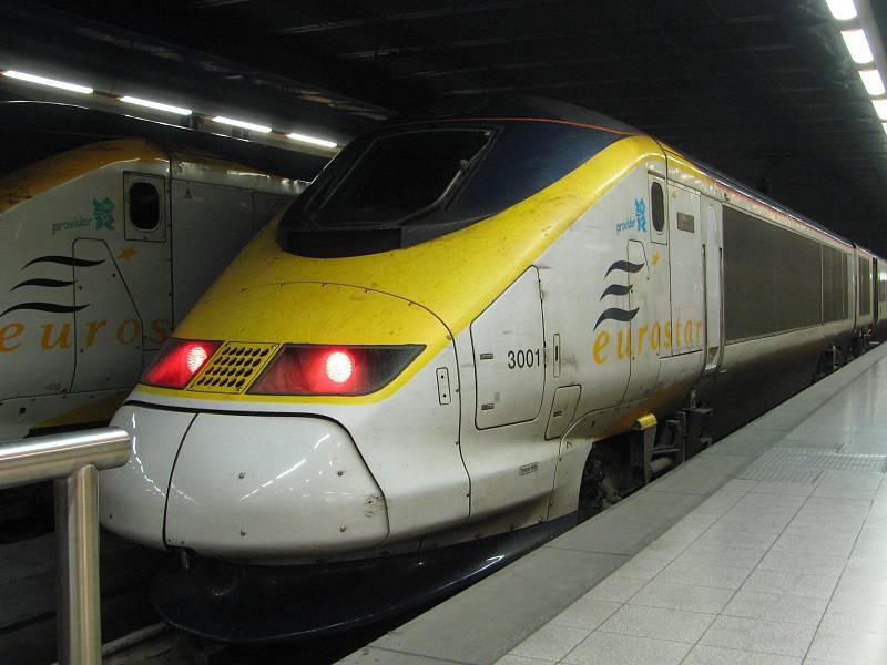 Vlak společnosti Eurostar