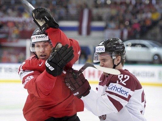 Švýcarsko - Lotyšsko: Victor Stancescu a Arturs Kulda