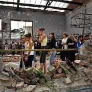tělocvična beslanské školy