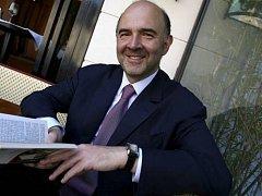 Francouzský ministr financí Pierre Moscovici.