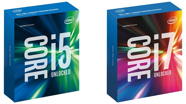 Procesory Intel Core.
