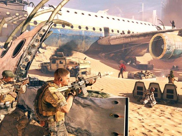 Počítačová hra Spec Ops: The Line.