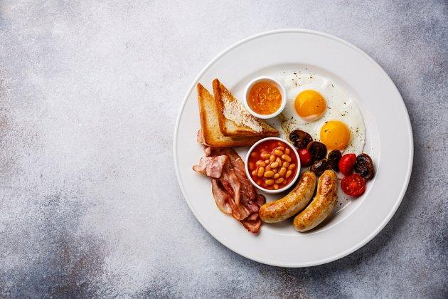 Anglická snídaně pro dva