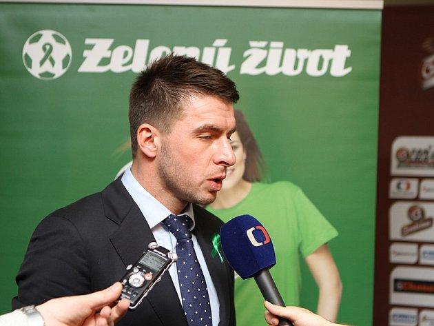 Bývalý obránce fotbalové reprezentace Zdeněk Grygera se stal novým patronem projektu Zelený život.