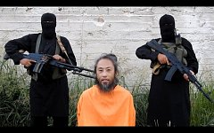 Video zachycující japonského novináře