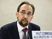 Komisař OSN pro lidská práva Zajd Raad Husajn.