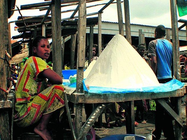 Trh v Kongu