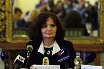 Ministryně školství Miroslava Kopicová