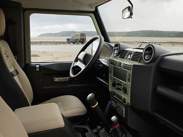 Land Rover Defender Heritage.