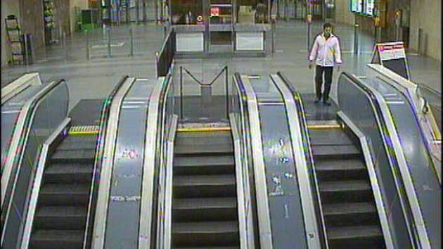Pražští policisté obvinili muže, který velmi brutálním způsobem napadl cestujícího na peróně v metru Palmovka.