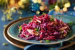 Salát zčerveného zelí sjablky