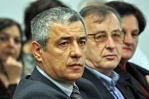 Lídr srbské menšiny v Kosovu Oliver Ivanovič.