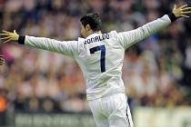 Ústřední postava Realu Madrid Cristiano Ronaldo.