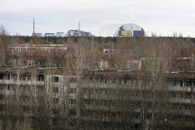 Asi nejznámější město duchů. Pripjať poblíž jaderné elektrárny Černobyl.