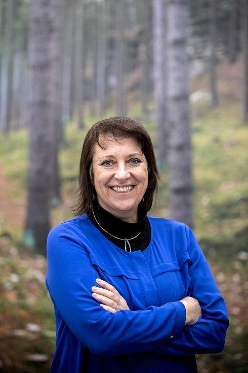 Spisovatelka Dana Emingerová