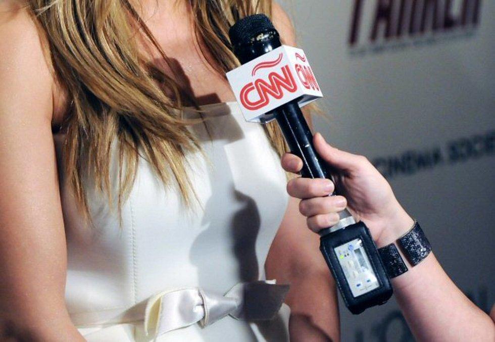 Rozhovor CNN - Mikrofon americké stanice CNN