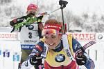 Gabriela Koukalová ovládla závod Světového poháru
