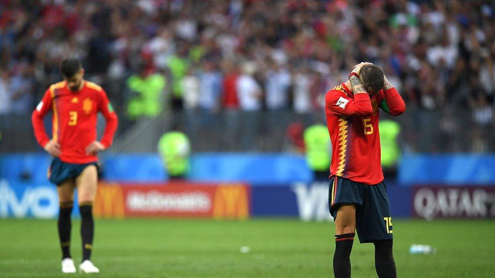 Španělské slzy.