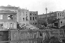 Tornáda řádila ve Spojených státech vždy. Takhle dopadlo městečko St Paul po úderu větrné smršti 20. srpna 1904