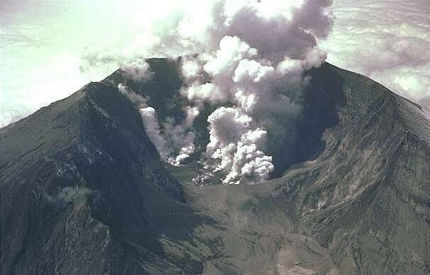 Dýmající sopka