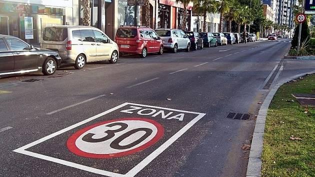 Omezení rychlosti ve Španělsku. Ilustrační snímek