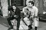 Bob Dylan a Johnny Cash