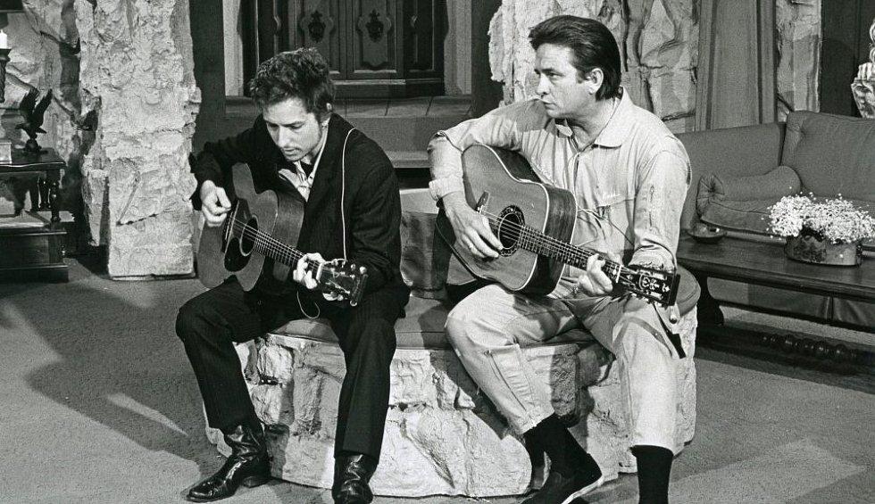 Bob Dylan a Johnny Cash