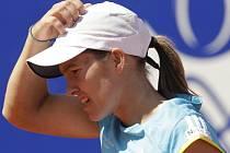 Justine Heninová nenašla recept na Dinaru Safinovou.