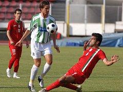 Michal Demeter v souboji se Sitarem Zare z Íránu.