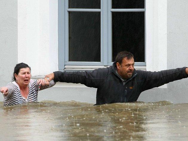 Záplavy v bavorském Pasově