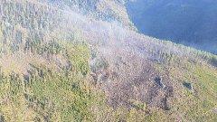 Požár ve Vysokých Tatrách
