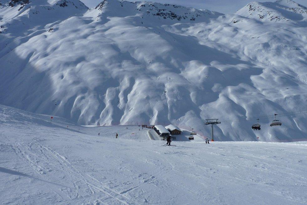 Italské alpské středisko Livigno